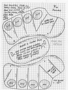 Armour Archive -- Pattern Archive: Demi Gauntlet by Rainald