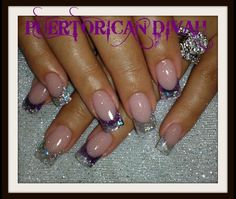 Acrylic nails by Puerto Rican Divah
