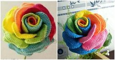 Wow. We even Don't know if you have seen beautiful crocheted flower like this rose. It's in different colors as you can see on the pictures and it looks perfect. You can of course crochet rose in one color like red, black and etc. We have for you free video tutorial and thanks for the author of course. This rose will be good for home decoration or for hair hanger. It's very creative to make and you will enjoy with process. Hope you will easily understand everything. Make your own rose with…