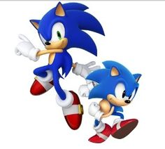 game hero Sonic in the 90's