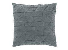 Boxton 50 x 50cm 100% Cotton Cushion, Grey
