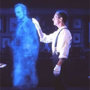 How to Create a Ghost Illusion for a Haunted House | eHow