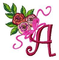 """A"""" for Angie, monogram love on Pinterest 
