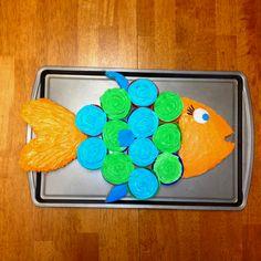 Fish Cupcakes Cake