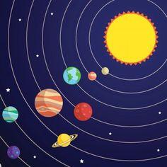 Cuento para niños sobre cómo se formó el Sistema Solar. El nombre de los 8…