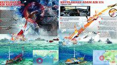 NEWSGRAPHIC: Dramatisnya AdamAir 574 dan Misteri AirAsia QZ 8501