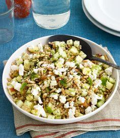 Main Course Salad -Israeli Couscous and Apple Salad Recipe