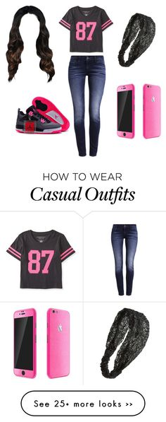 """casual"" by tamira2fly on Polyvore"