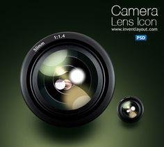 camera lens icon by atifarshad.deviantart.com on @DeviantArt