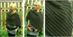 Katniss Everdeen knitted poncho | the knitting space