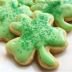 Cream Cheese Sugar Cookies ~T~ This is my favorite sugar cookie recipe. I just brush with alittle egg white and let the kids sprinkle with colored sugar. Yummy.