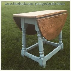 """""""#ascp #antique #anniesloan #chalkpaint #coffeetable #darkwax #distressed #distressedfurniture #dropleaftable #etsy #forsale #duckeggblue #handpainted #instahome #loveit #morethanpaint #paintedfurniture #prettyuniquefurniture #refurbished #shabby #shabbychic #table #upcycled #vintage"""" Photo taken by @prettyuniquefurniture on Instagram, pinned via the InstaPin iOS App! http://www.instapinapp.com (04/10/2015)"""
