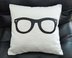 Geek Throw Pillows, Fun Pillow Covers for Teenagers or Teckie Dads, Nerdy, Geeky, Pillow, Unique Birthday Gift