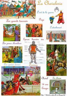 Le bonheur en famille: Moyen âge, la chevalerie et les tournois...