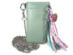 Bodybag Umhängetasche Iphone 5s Tasche Nappaleder von AnnaBelleBags