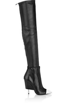 Givenchy Screw-Heel Thigh-High Boots at Barneys New York