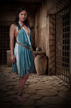 Picture: Marisa Ramirez in 'Spartacus: Gods of the Arena.' Pic is in a photo gallery for 'Spartacus: Gods of the Arena' featuring 39 pictures. Spartacus Women, Spartacus Tv Series, Spartacus Blood And Sand, Gods Of The Arena, Spartacus Seasons, Spartacus Workout, Rhona Mitra, Luanna, Actrices Hollywood