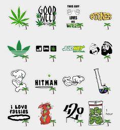 Weed Stickers Set | Telegram Stickers