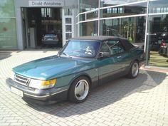 Einer von vielen schönen Old- und Youngtimern im Classic Car Register: SAAB 900 Turbo Cabriolet