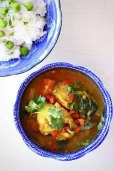 Cabbage Potato Curry (Vegan + GF)
