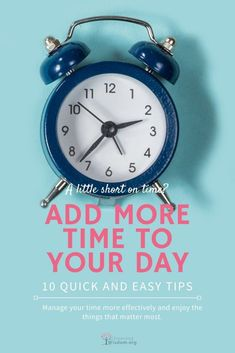 Have you ever considered how you might add time to your day? It isn't really possible to add time, but there are ways to be more productive with it. Self Development, Personal Development, Learning To Say No, How To Double A Recipe, Time Management Tips, Ask For Help, Positive Mindset, Going To The Gym, Self Improvement