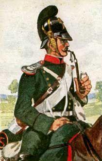 Bayerische Kavallerie - Chevaul. d. 5. Chev.-Rgts., 1870.