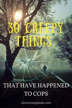 30 Creepy Things That Have Happened to Cops