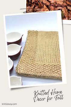Knit So Easy quick & easy patterns = effortlessly cozy knitting. #KnittingPatterns #FallCrafts #Handknits Knitted Hats Kids, Knitted Baby Blankets, Kids Hats, Fall Home Decor, Autumn Home, Walnut Ridge, Banner Elk, Fall Knitting, Fall Crafts