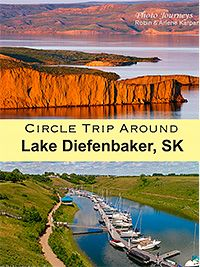 Explore Lake Diefenbaker on an exciting Saskatchewan road trip around the lake. Visit photogenic spots, do some fishing, hiking or boating, and visit three provincial parks. Saskatchewan Canada, Tourism Saskatchewan, Travel Route, Travel List, Lakeside Park, Canada Travel, Canada Tourism, Canada Eh, Canada Memes