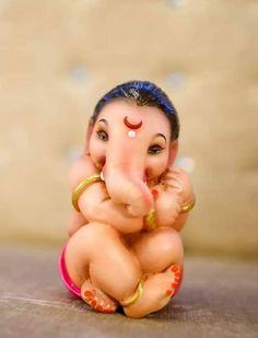 Arte Ganesha, Jai Ganesh, Ganesh Lord, Ganesh Images, Ganesha Pictures, Shiva Art, Shiva Shakti, Ganpati Bappa Photo, Krishna Birth
