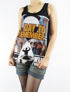 A Day to Remember Metalcore Pop Punk Post Hardcore by punkalife, $15.99