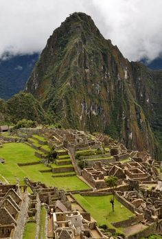 Machu Picchu, Peru is high on my bucket list must see!