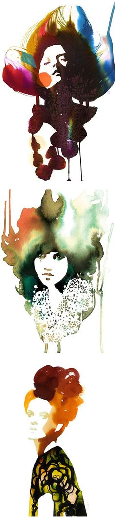 Stina Persson watercolors