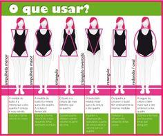 : Qual é seu tipo de corpo? Plus Size Womens Clothing, Plus Size Fashion, Clothes For Women, Plus Size Chic, Instagram Blog, Wardrobe Basics, Fashion Beauty, Fashion Tips, Personal Stylist