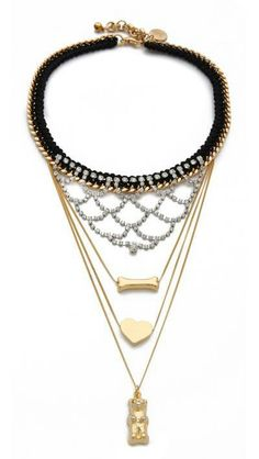 Bib necklaces are hot for summer!