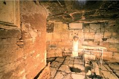 Mamertine Prison - the cell where the apostles Peter and Paul were imprisoned.