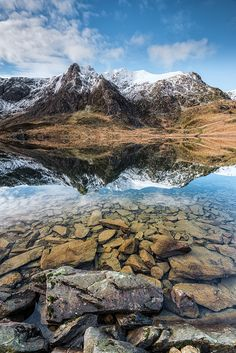 Wander the wood Llyn Idwal, Snowdonia, Wales by John Ormerod Places To Travel, Places To See, Snowdonia National Park, British Countryside, North Wales, Wales Uk, Voyage Europe, Destinations, Seen