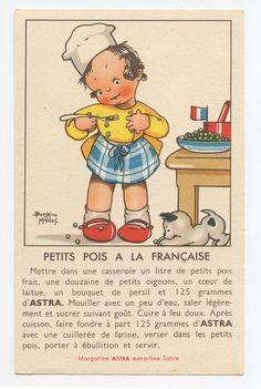 Beatrice Mallet recipe postcard 1930s  | eBay