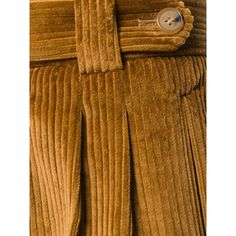 Mulberry straight leg trousers (890 SAR) ❤ liked on Polyvore featuring pants, brown corduroy pants, straight leg corduroy pants, brown trousers, corduroy pants and corduroy trousers