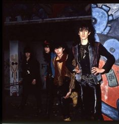 """FALLEN ANGELS - Nasty Suicide, Razzle, Sami Yaffa, Knox in the 1982 lineup. KNOX + HANOI ROCKS! Even though not credited under their names ANDY McCOY & MICHEAL MONROE are on their classic """"Interplanetary Love"""" LP as """"COSMIC TED & THE PSYCHEDELIC KID!  The VIBRATORS are great but KNOX does his best work in """"Project"""" albums like FALLEN ANGELS & URBAN DOGS (project w/UK SUBS & PHYSICALS guys)."""