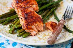 Spicy Honey-Glazed Salmon by foodiebride, via Flickr