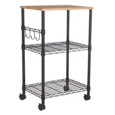 RE Microwave Kitchen Cart : Target