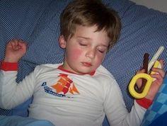 sleep issues with sensory processing kiddos...