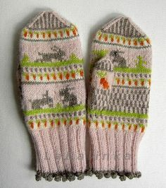 bunny gloves. I am in love!