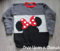 Free Crochet Minnie Mouse Doll Pattern Minnie Mouse Sweater Crochet Pattern Once Upon A Cheerio Free Crochet Minnie Mouse Doll Pattern Crochet Mickey And Minnie Mouse Chibi Amigurumi Dolls Millies. Free Crochet Minnie Mouse Doll Pattern Crochet D. Sweater Knitting Patterns, Baby Knitting, Crochet Patterns, Crochet For Kids, Crochet Baby, Free Crochet, Minnie Mouse Doll, Crochet Decrease, Crochet Disney