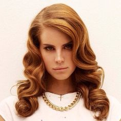 Lana Del Rey's curls are just lovely!