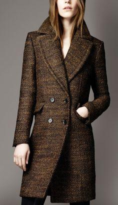 Burberry Wool Herringbone coat