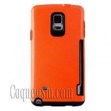 Coque plastique rigide antidérapant carte intercalante haute garantie pour Samsung Galaxy Note 4 Galaxy Note 4, Accessoires Samsung, Smartphone, Plastic, Slipcovers