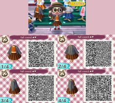 """ani-crossing: """" My massive QR dump! I've slowly been designing new stuff and I've been forgetting to upload them so here they are in one massive post. I love these ones and I always have fun making them! """""""