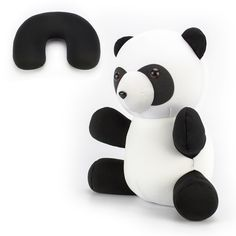 The Playful Panda Convertible Neck Pillow and Stuffed Animal Travel Pal is your ... The Playful Panda Convertible Neck Pillow and Stuffed Animal Travel Pal is your kid's perfect travel companion! Cute, co...  #Animal #Convertible #Neck